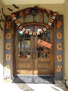 doorway halloween