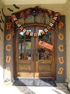 doorway halloween