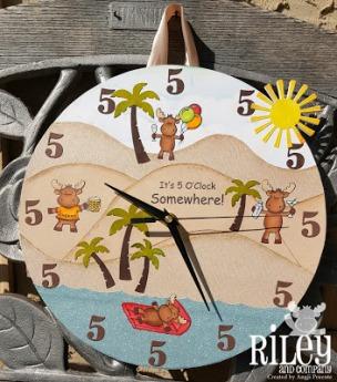 Angji Clock 1